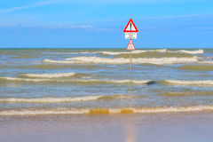 Aucune natation Image stock
