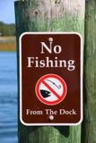 Aucune pêche Images stock