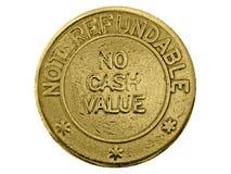 Aucune valeur d'argent comptant Photo stock