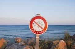 Aucuns crabots permis Photo libre de droits