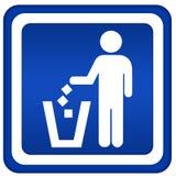 Aucuns déchets illustration libre de droits