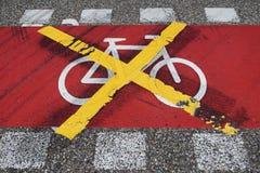 Aucuns vélos Image stock