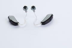 Audífonos de Digitaces imagenes de archivo
