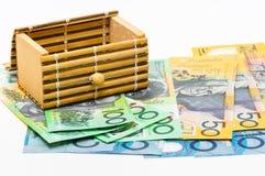 AUD австралийского доллара Стоковые Фото