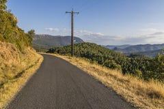 Aude landscape, France Stock Photography