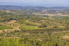 Aude scenic area, France Royalty Free Stock Images