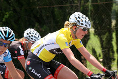 Aude Women cycling race 2009 Royalty Free Stock Images