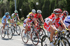 Aude Women cycling race 2009 Stock Photo