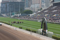 Audemars Piguet Queen Elizabeth II Cup in Hong Kong Royalty Free Stock Photo