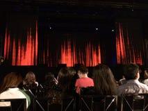 Audiência do concerto Imagens de Stock