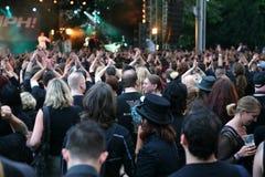 Audiência do concerto Imagens de Stock Royalty Free