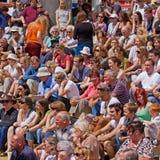 Audiência paciente do festival Imagens de Stock