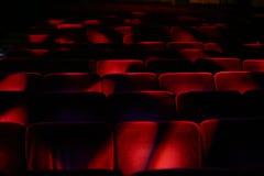 Audiência vazia do teatro Imagem de Stock Royalty Free