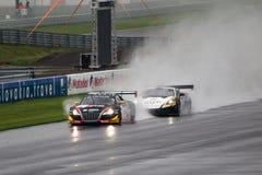 Audi против Lamborghini Стоковое Фото