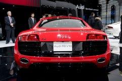 Audi 2009 R8 - parte posteriore Fotografia Stock Libera da Diritti