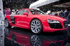 Audi 2011 R8 en el NAIAS Imagen de archivo libre de regalías