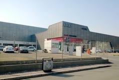 Audi 4s. Tianjin Chang Jiang road Tianjin China photoed on February 28th 2014 Stock Photography