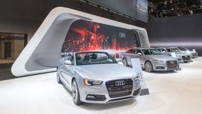 Audi 2015 A5, A6, A7, A8 Arkivfoto