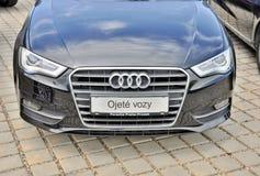 Audi a6 Fotografia Stock Libera da Diritti