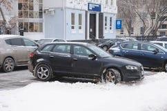 Audi a3 Fotografía de archivo libre de regalías