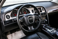 Audi a6 Foto de Stock Royalty Free