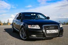 Audi a6 Immagini Stock Libere da Diritti