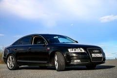 Audi a6 Fotografia de Stock Royalty Free