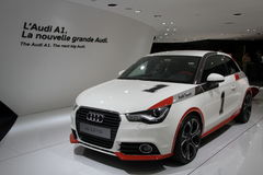 AUDI A1 Competition Kit Stock Photos