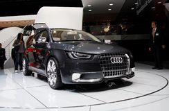 Free Audi A1 Concept Royalty Free Stock Photo - 6597285