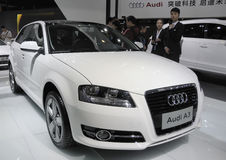 Audi A3 Imágenes de archivo libres de regalías
