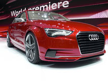 Audi A3 concept Royalty Free Stock Photos