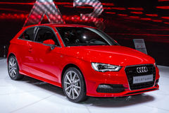 Audi A3 in Geneve Auto Salon 2012 Stock Image