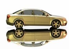 Audi A4 car Royalty Free Stock Photo