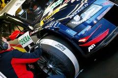 Audi A4 DTM 09(DTM,Mattias Ekstrom). DTM(Round.7): in ENGLAND,BRANDS HATCH Curcuit, Mattias Ekstrom(SWE),Red Bull Audi A4 DTM 09,#Audi Sport Team Abt Sportsline Royalty Free Stock Images