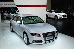 Audi A4L Royalty Free Stock Photography