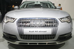 Audi A6 Allroad Foto de Stock Royalty Free
