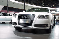Audi A6L car Royalty Free Stock Photos