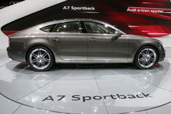 Audi A7 sportback Royalty Free Stock Photography