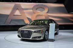 Audi A8 Royalty Free Stock Photo