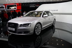 Audi A8 Hybrid Stock Images