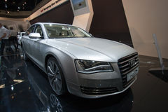 Audi A8 Hybrid Royalty Free Stock Photography