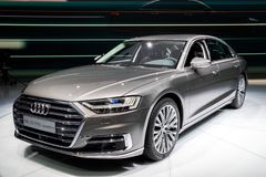 Audi A8 L 55 TFSI Quattro Car Stock Images