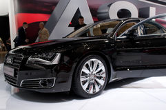 Audi A8 Long - russian premiere Stock Image