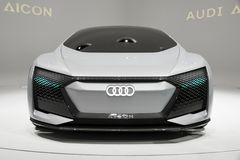 Audi Aicon autonomous electric concept car Royalty Free Stock Image
