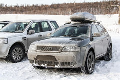 Audi A6 Allroad Stock Photos