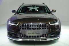 Audi a6 allroad. Chengdu Motor Show,China stock image