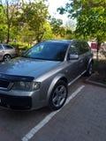 Audi-allroad lizenzfreie stockbilder