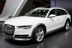 Audi A6 Allroad car Stock Images