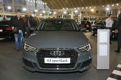 Audi au Car Show de Belgrade photographie stock