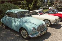 Audi/Autounion老朋友汽车 库存照片